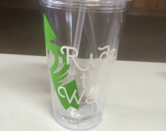 Ride the Wave Tumbler