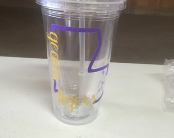 Geaux Louisiana Tigers Tumbler