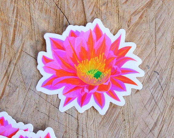 Desert Flower Sticker