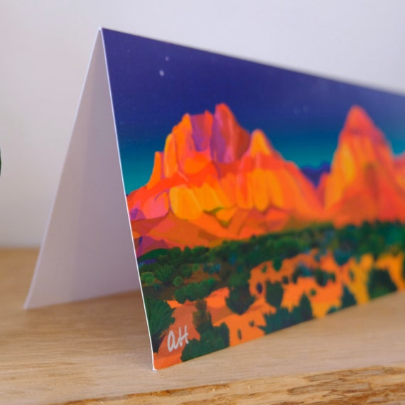 Red Rocks Card