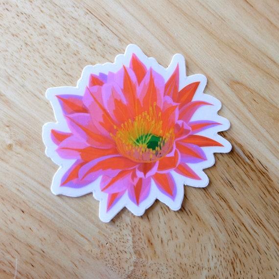 Desert Flower Sticker