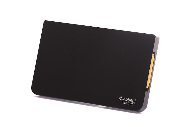 Metal wallet credit card wallet men's and women's image 0