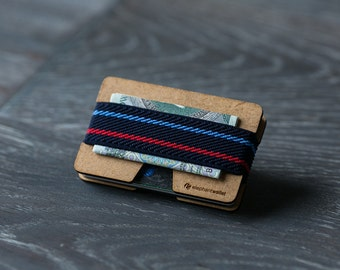 Small women's wallet, credit card wallet, modern design wallet, slim and minimalist wallet, modern design wallet, N wallet