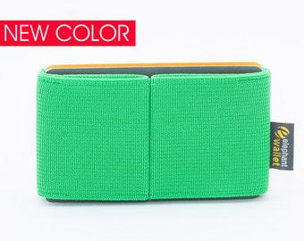 Card wallet for women, credit card wallet, women's elastic wallet, slim and minimalist wallet, modern design wallet, E8 wallet,