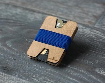Unisex wallet, thin wallet, credit card holder, modern wallet, design wallet, wood wallet, X wallet, Elephant Wallet