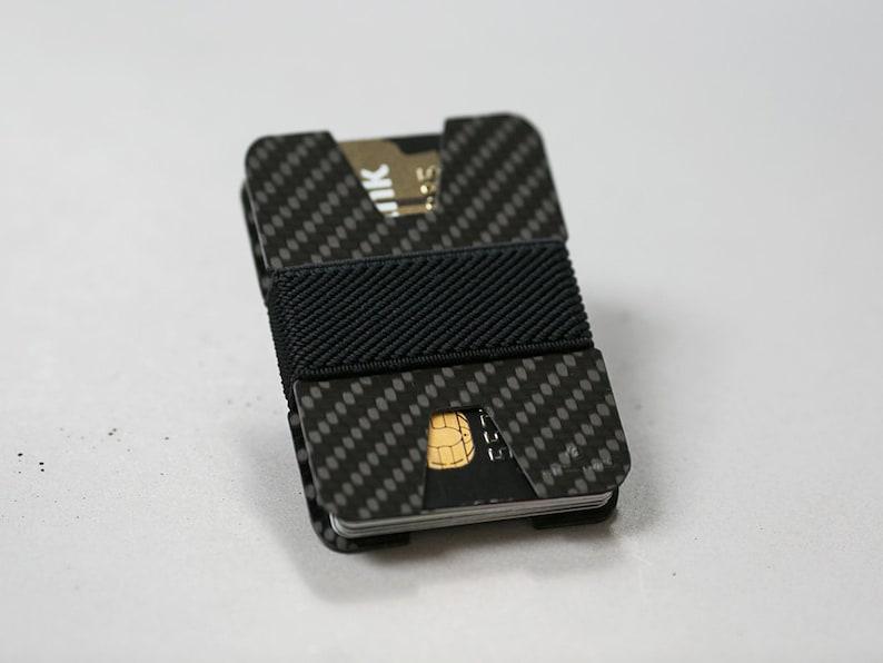 48d9aa0f9cc4 Slim wallet business card holder carbon fiber wallet