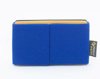 Minimalist wallet, mother's day gift, women's wallet, elastic slim wallet, modern wallet, design wallet, E8 wallet, Elephant Wallet