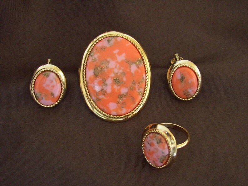 SARAH COVENTRY  Coraline Set full parure set brooch image 0