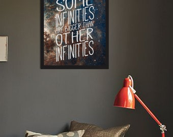 The Fault in Our Stars / Some Infinities / Space / Poster