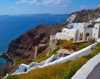 Santorini Greek Islands Aegean Sea - Wall Art