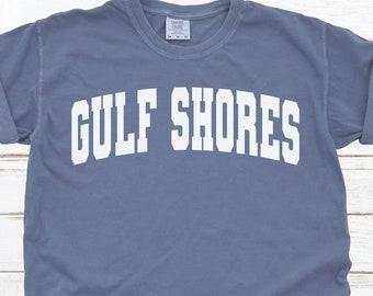 Alabama T-shirt Retro Gulf Shores AL Shirt Retro Mens Womens T-Shirts 70s 80s Vintage Style Gulf Shores