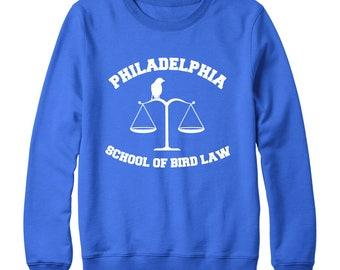 Bird Law Navy Crewneck