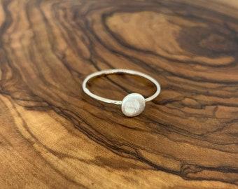 Celeste Full Moon Ring