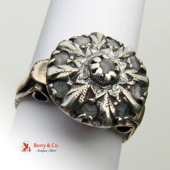 Antique 18th Century Diamond Ring - image 5