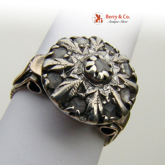 Antique 18th Century Diamond Ring - image 4