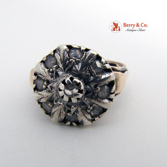 Antique 18th Century Diamond Ring - image 2