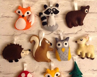 Woodland animal garland/bunting any 5 for 16.95 GBP