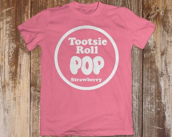 Tootsie Roll Pop Strawberry Candy- DIGITAL DOWNLOAD