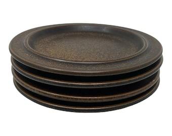 Arabia Finland Plates Ruija \u00d8 20.3 cm Vintage  Scandinavian Design  Finnish  Mid Century  Modern Set of 2 Designed by Ulla Procope