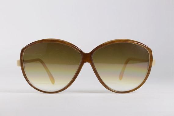 Vintage 80's CAZAL Sunglasses Bicolor
