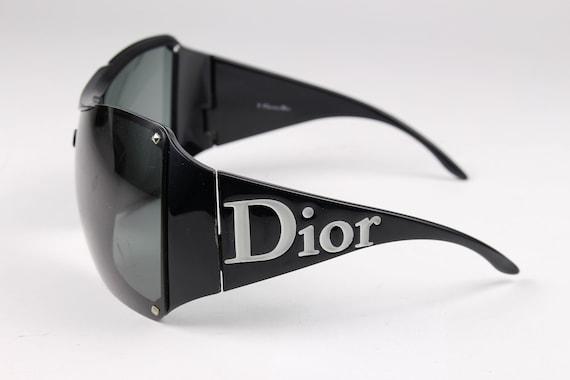 CHRISTIAN DIOR Vintage 2000's Sunglasses Overshin… - image 1