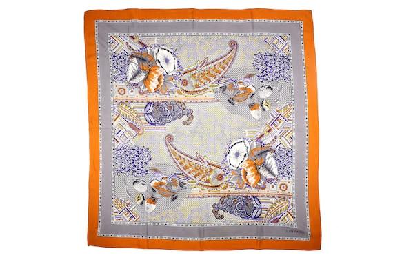 Authentic JEAN PATOU Vintage Scarf 100% Silk