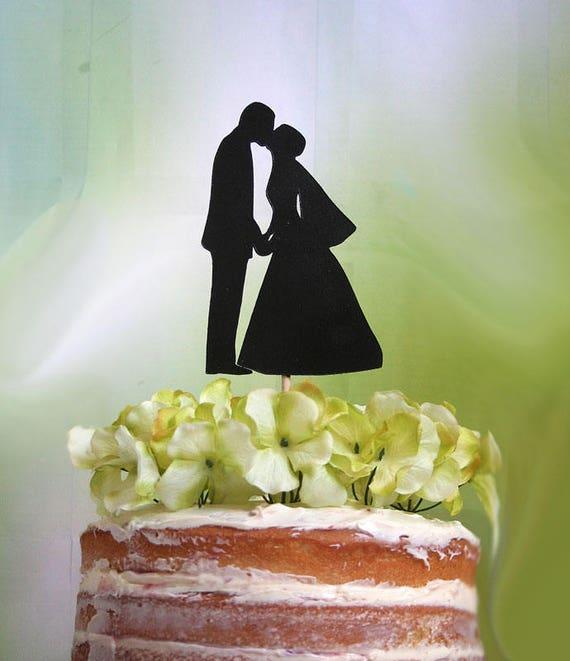 Wedding Cake Topper Kissing Couple Cake Topper Custom Wedding Cake Topper Wedding Keepsake Diy Wedding Cake Decoration Gold Wedding