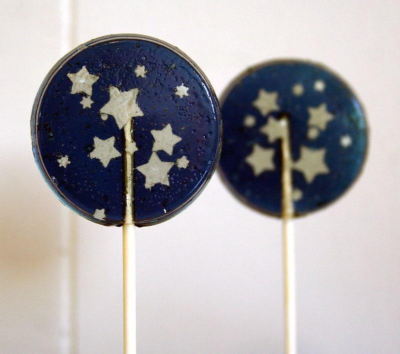 Sternenklare Nacht Hochzeit Gunsten Lutscher Set 5 Marineblau   Etsy