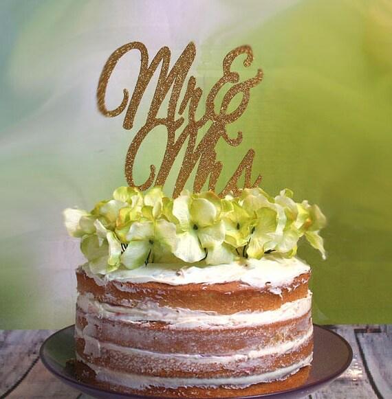 Wedding Cake Topper Mr And Mrs Wedding Cake Topper Custom Wedding Cake Topper Wedding Keepsake Diy Wedding Cake Decoration Gold Wedding