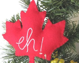 canada maple leaf ornament eh canada maple leaf christmas ornament canadian ornament