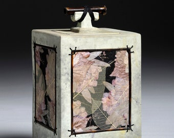 Floral Spirit Box Urn