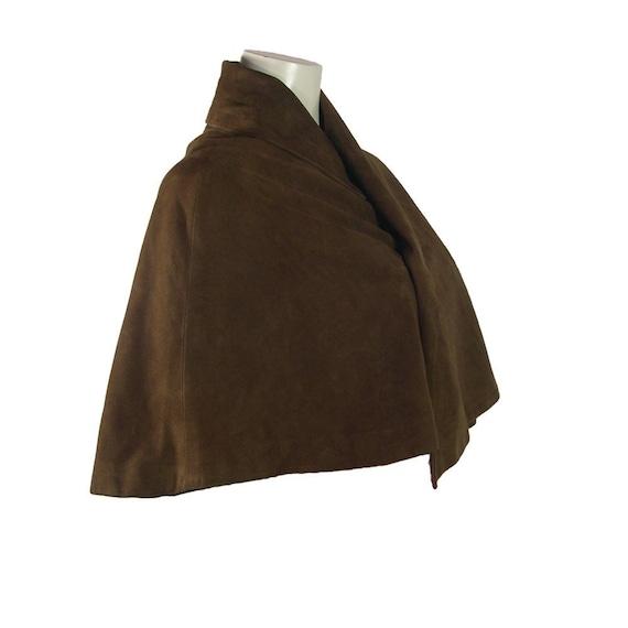 Vintage Yohji Yamamoto Chocolate Brown Suede Capel