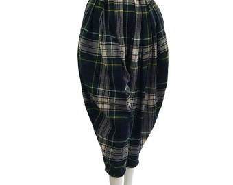 Vintage Comme des Garcons Tartan Knickerbocker Trousers 1981