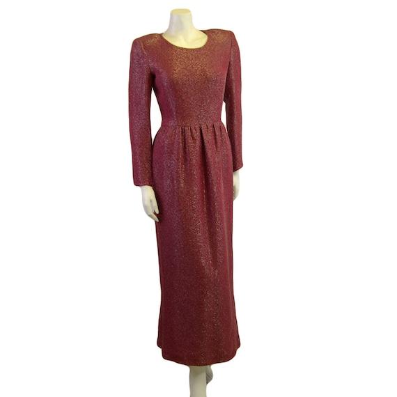 1980s Vintage Couture Lanvin Evening Gown