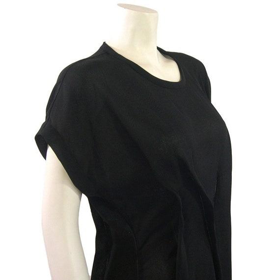 Vintage Comme des Garcons Asymmetric Folded Black