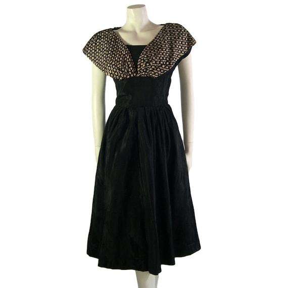 1950s Vintage Cocktail Evening Dress