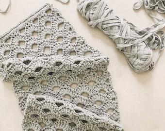 The Arcade Stitch Crochet Wall Hanging // Yarn Wall Hanging // Wall Decor // Simply Maggie