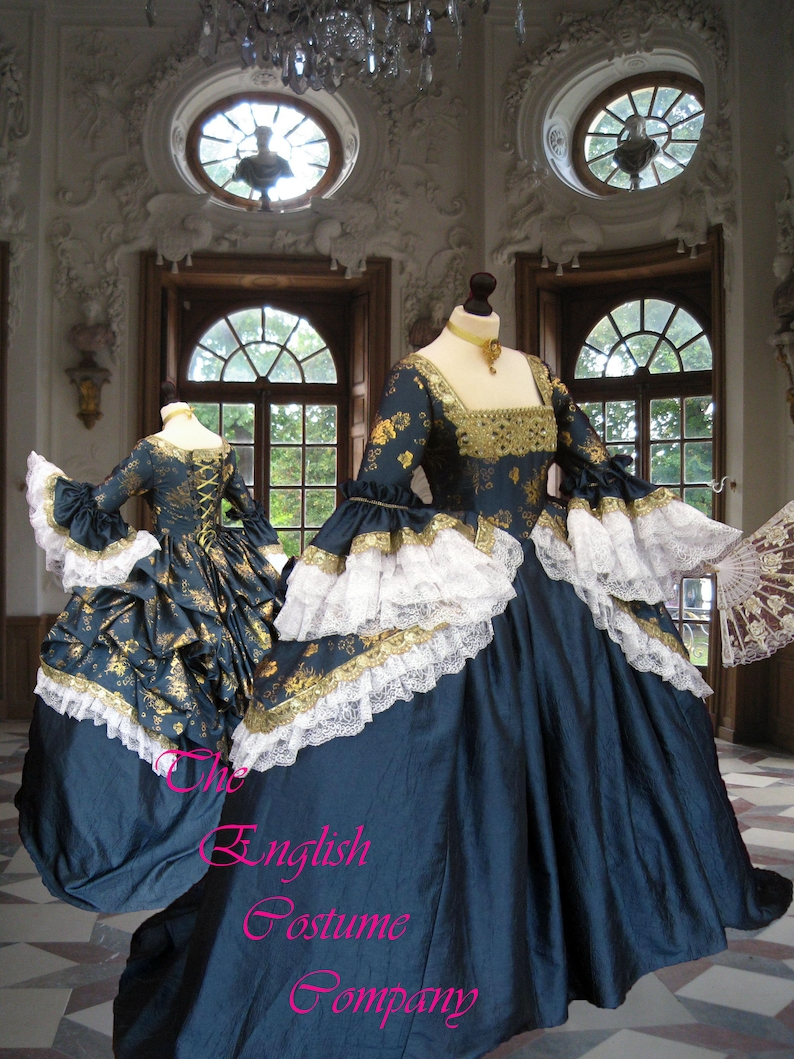 6029c296b2b B  18th century dress. The Duchess. Limited edition of 3