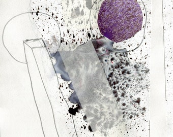 Fine Art Drawing - Conduit Drawing 2 - Graphite Drawing - Abstract Drawing - Contemporary Art - Anne Fox - Fine Art