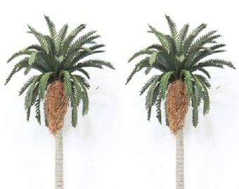 "Buy 3 Save $5 5/"" Coconut Palm Trees Miniature Dollhouse Fairy Garden Set of 4"