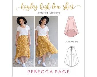 High Low Skirt Etsy