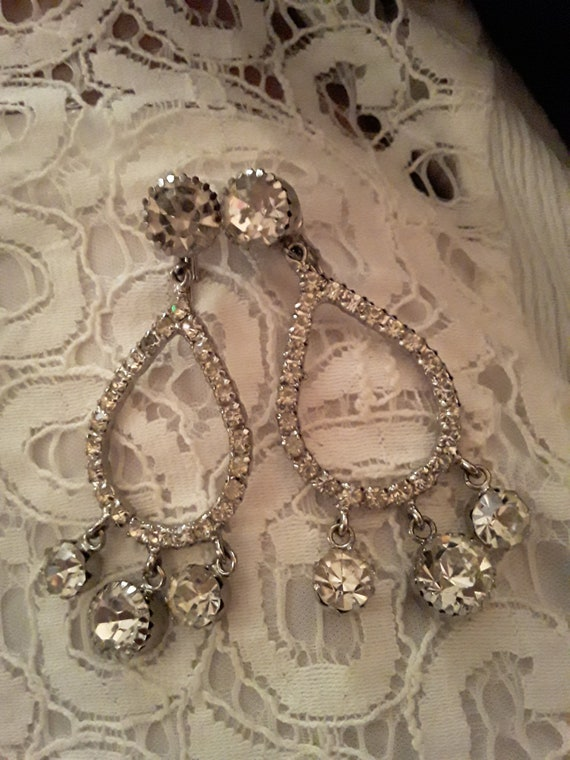 Bling Bling Chandelier Earrings
