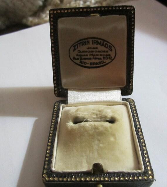 Sale Antique Presentation Ring Box/ Antique Ring B