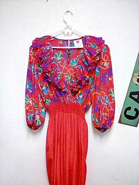 "Vintage"" Susan Tudor "" Jumpsuit/Vintage 1980s Susa"