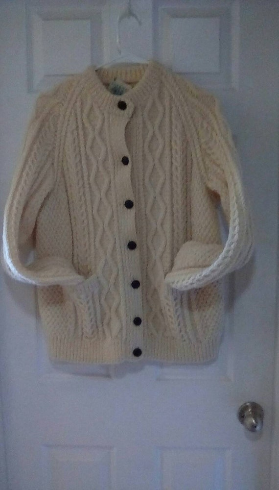 1950s Irish Cable Knit Sweater