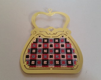 Brass Handbag Cross Stitch