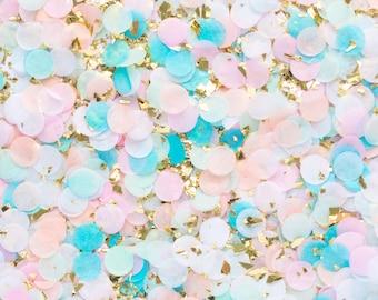 Gender Reveal Party, Gender Reveal Ideas, Gender Reveal Decorations, Gender Reveal Balloon, Blue Pink Confetti - Carousel Confetti