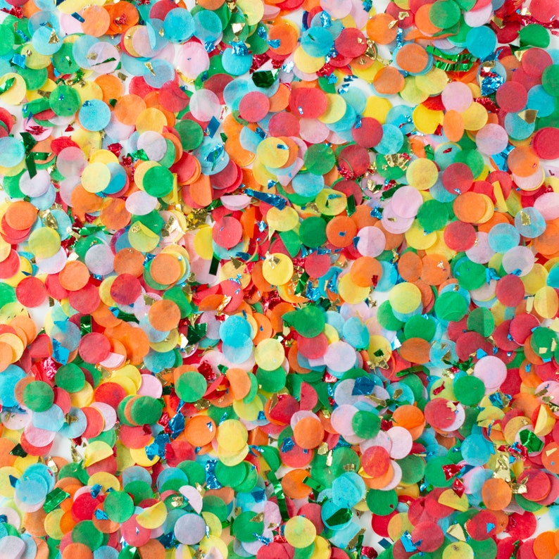 Handmade with Happiness\u00ae in the USA Back to School Confetti