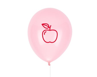 First Day of School Sign, Apple Balloon, Teacher Gift - Printed with Pep® in the USA