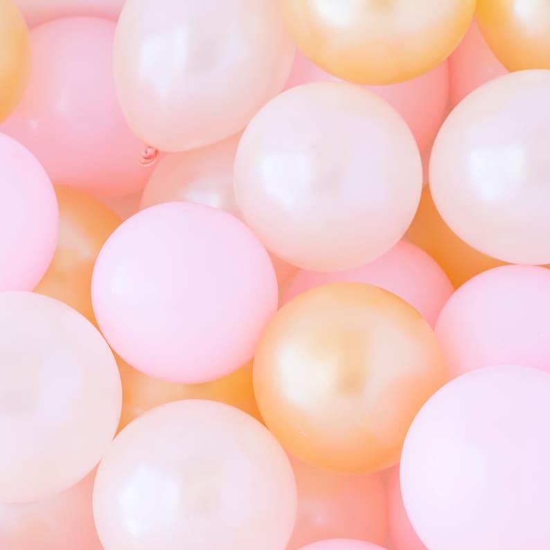 Princess Balloons Birthday Decorations